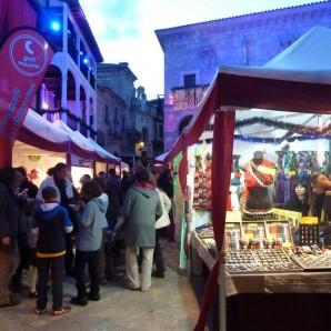 Christmas market Pueblo Español
