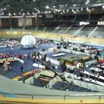 escenarios y gradas para eventos deportivos