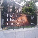 Pancarta Feria Libro antiguo